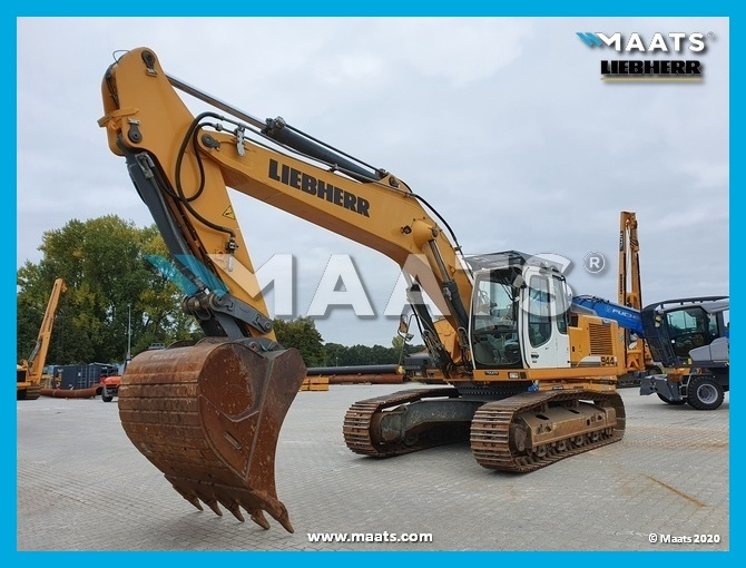 Track excavator Liebherr