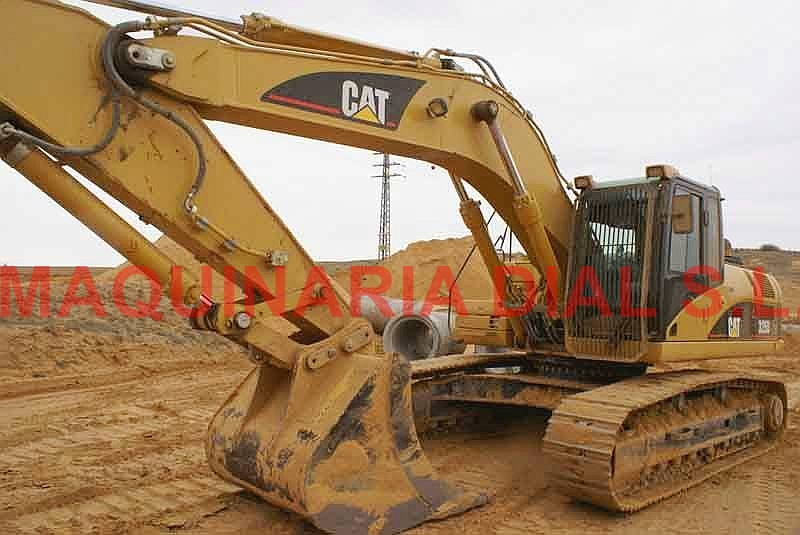 Wheel excavator Caterpillar